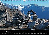 Schweizer Alpen (Wandkalender immerwährend DIN A4 quer) - Produktdetailbild 11