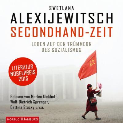 Secondhand-Zeit, 8 Audio-CDs, Swetlana Alexijewitsch