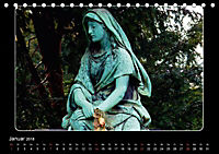 Seelengalerie - Engel in Stein - 1. Edition (Tischkalender 2018 DIN A5 quer) - Produktdetailbild 1