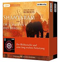 Shantaram und Im Schatten des Berges, 7 MP3-CD - Produktdetailbild 1