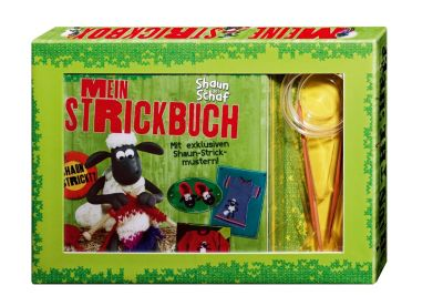 Shaun das Schaf - Mein Strickbuch, mit 2 Rundstricknadeln, Roswitha Sanchez Ortega