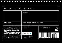 Silence - Momente der Ruhe - Klaus Gerken (Tischkalender 2018 DIN A5 quer) - Produktdetailbild 13