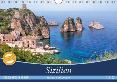 Sizilien - Italien mal anders (Wandkalender 2018 DIN A4 quer) Dieser erfolgreiche Kalender wurde dieses Jahr mit gleiche, Joana Kruse