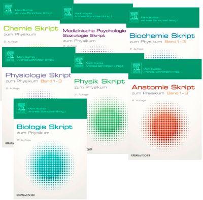 Skripten zum Physikum, 13 Bde., Mark Buchta