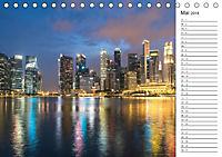 Skylines weltweit (Tischkalender 2018 DIN A5 quer) - Produktdetailbild 5