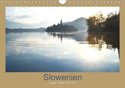 Slowenien - Triglav, Karst und Adria (Wandkalender 2018 DIN A4 quer), k. A. Fotokullt