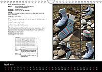 Sockenkalender Bootsocks 2018 (Wandkalender 2018 DIN A4 quer) - Produktdetailbild 4