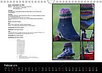 Sockenkalender Bootsocks 2018 (Wandkalender 2018 DIN A4 quer) - Produktdetailbild 2