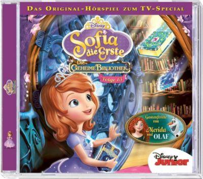 Sofia die Erste - Die geheime Bibliothek 1 + 2, 1 Audio-CD, Walt Disney, Sofia Die Erste