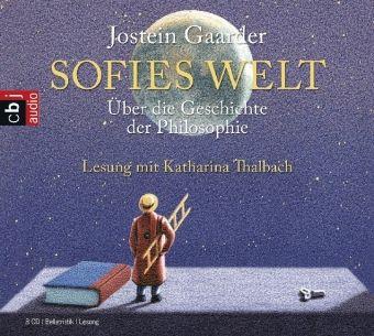 Sofies Welt, 8 Audio-CDs, Jostein Gaarder