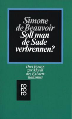 Soll man de Sade verbrennen?, Simone de Beauvoir