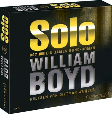 Solo, 8 Audio-CDs, William Boyd