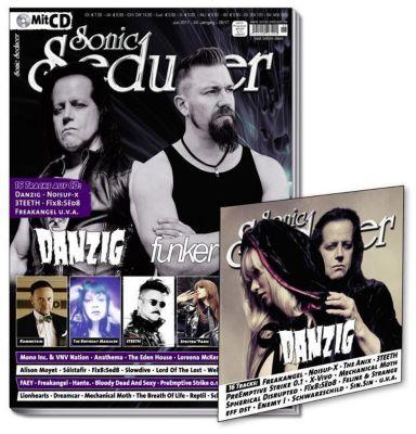 Sonic Seducer: Ausg.2017/06 Titelstorys Danzig und Funker Vogt, m. Audio-CD