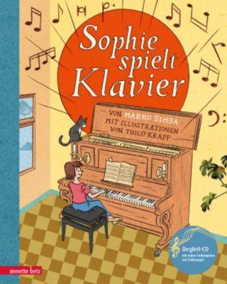 Sophie spielt Klavier, m. Audio-CD, Marko Simsa