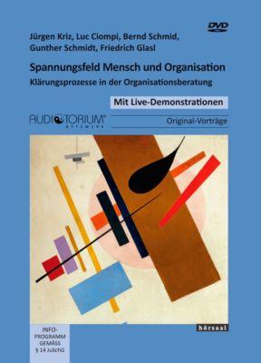 Spannungsfeld Mensch und Organisation, 2 DVDs, Jürgen Kriz, Luc Ciompi, Bernd Schmid, Gunther Schmidt, Friedrich Glasl