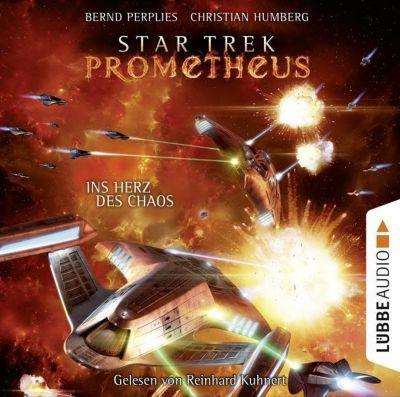 Star Trek Prometheus - Ins Herz des Chaos, 10 Audio-CDs, Bernd Perplies, Christian Humberg