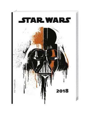 Star Wars 17-Monats-Kalenderbuch A6 2018