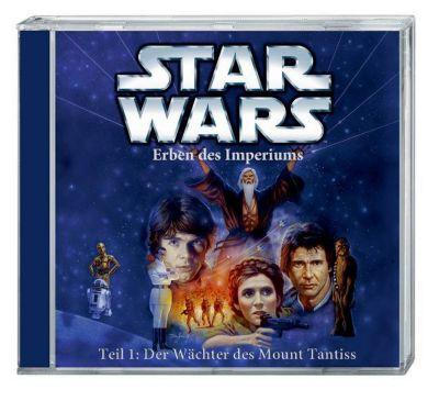 Star Wars, Erben des Imperiums, Der Wächter des Mount Tantiss, 1 Audio-CD, Timothy Zahn