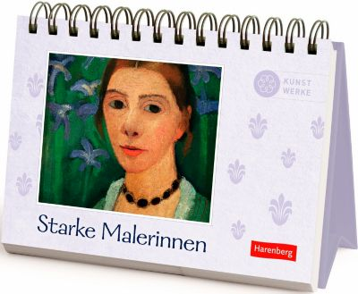 Starke Malerinnen Geschenkbuch, Aufstellbuch