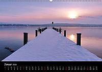 Starnberger See - Silent Moments (Wandkalender 2018 DIN A2 quer) - Produktdetailbild 1
