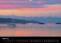 Starnberger See - Silent Moments (Wandkalender 2018 DIN A2 quer) - Produktdetailbild 4