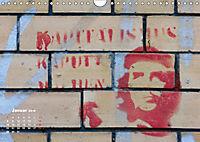 STENCIL ART 2018 - Schablonen Graffiti (Wandkalender 2018 DIN A4 quer) - Produktdetailbild 1