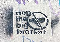 STENCIL ART 2018 - Schablonen Graffiti (Wandkalender 2018 DIN A4 quer) - Produktdetailbild 3