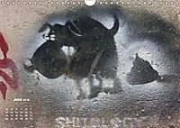 STENCIL ART 2018 - Schablonen Graffiti (Wandkalender 2018 DIN A4 quer) - Produktdetailbild 6
