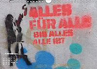 STENCIL ART 2018 - Schablonen Graffiti (Wandkalender 2018 DIN A4 quer) - Produktdetailbild 2