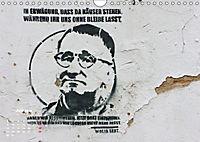 STENCIL ART 2018 - Schablonen Graffiti (Wandkalender 2018 DIN A4 quer) - Produktdetailbild 7