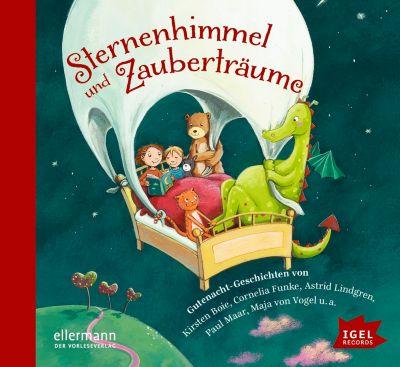 Sternenhimmel und Zauberträume, Audio-CD, Cornelia Funke, Dimiter Inkiow, Astrid Lindgren