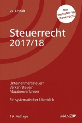 Steuerrecht 2017/18 (f. Österreich), Werner Doralt