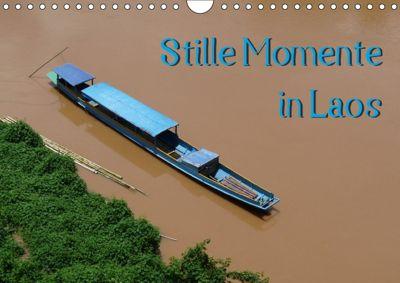 Stille Momente in Laos (Wandkalender 2018 DIN A4 quer), Sabine Olschner