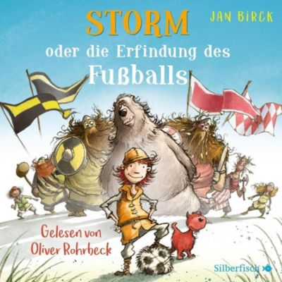 Storm oder die Erfindung des Fußballs, 2 Audio-CDs, Jan Birck