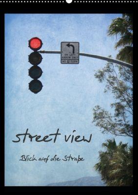 street view/ Blick auf die Straße (Posterbuch, DIN A2 hoch), DigiartPicture