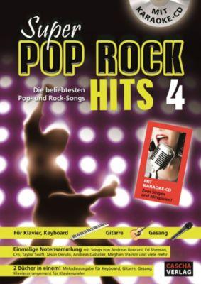 Super Pop Rock Hits 4, mit CD
