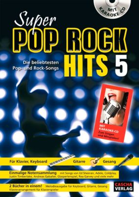Super Pop Rock Hits 5, mit Karaoke CD