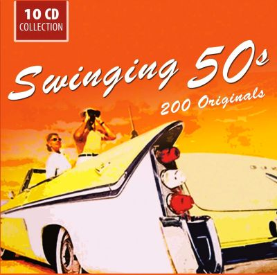 Swinging 50s - 200 Originals, 10 CDs, Martin, Hunter, Day, Ray, Reeves, Como, Clooney