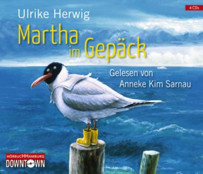 Tante Martha im Gepäck, 4 Audio-CDs, Ulrike Herwig