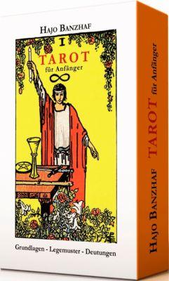 Tarot für Anfänger, m. Rider/Waite-Tarotkarten, Hajo Banzhaf