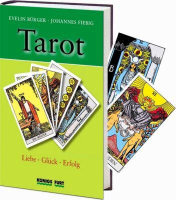 Tarot, m. 78 Rider/Waite-Tarotkarten, Evelin Bürger, Johannes Fiebig