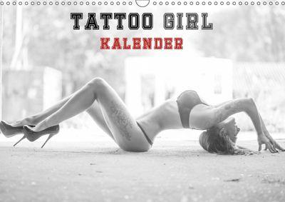 TATTOO GIRL KALENDER (Wandkalender 2018 DIN A3 quer), Andre Xander