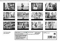 TATTOO GIRL KALENDER (Wandkalender 2018 DIN A3 quer) - Produktdetailbild 13