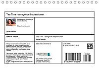Tea Time - anregende Impressionen (Tischkalender 2019 DIN A5 quer) - Produktdetailbild 13