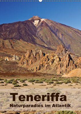 Teneriffa - Naturparadies im Atlantik (Wandkalender 2018 DIN A2 hoch), Anja Ergler