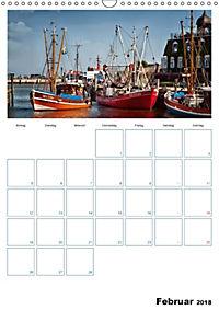 Terminplaner, Ostfriesland, die alten Häfen - Greetsiel, Neuharlingersiel, Carolinensiel (Wandkalender 2018 DIN A3 hoch) - Produktdetailbild 2