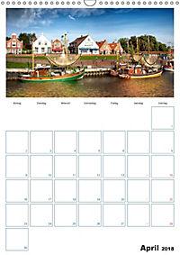 Terminplaner, Ostfriesland, die alten Häfen - Greetsiel, Neuharlingersiel, Carolinensiel (Wandkalender 2018 DIN A3 hoch) - Produktdetailbild 4