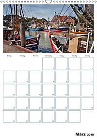 Terminplaner, Ostfriesland, die alten Häfen - Greetsiel, Neuharlingersiel, Carolinensiel (Wandkalender 2018 DIN A3 hoch) - Produktdetailbild 3