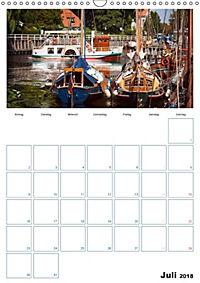 Terminplaner, Ostfriesland, die alten Häfen - Greetsiel, Neuharlingersiel, Carolinensiel (Wandkalender 2018 DIN A3 hoch) - Produktdetailbild 7