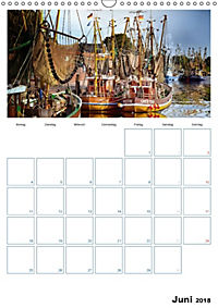Terminplaner, Ostfriesland, die alten Häfen - Greetsiel, Neuharlingersiel, Carolinensiel (Wandkalender 2018 DIN A3 hoch) - Produktdetailbild 6